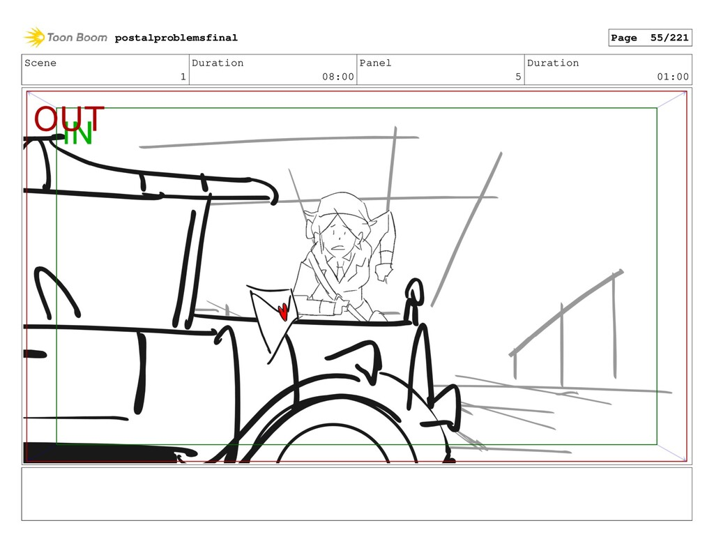 Scene 1 Duration 08:00 Panel 5 Duration 01:00 p...