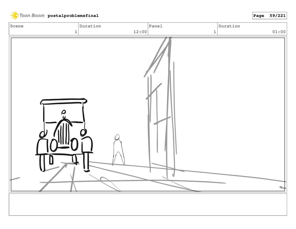 Scene 1 Duration 12:00 Panel 1 Duration 01:00 p...