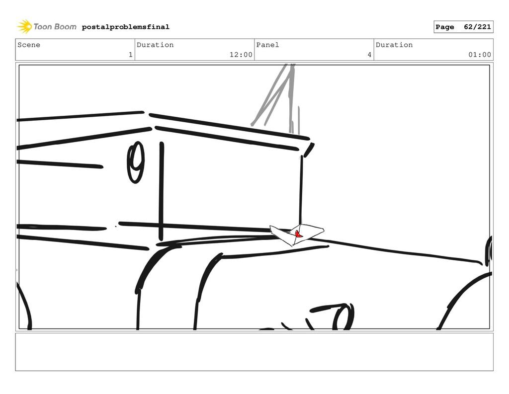 Scene 1 Duration 12:00 Panel 4 Duration 01:00 p...
