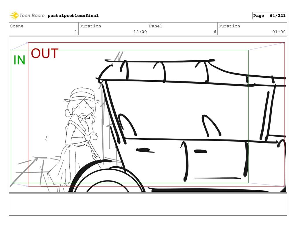 Scene 1 Duration 12:00 Panel 6 Duration 01:00 p...