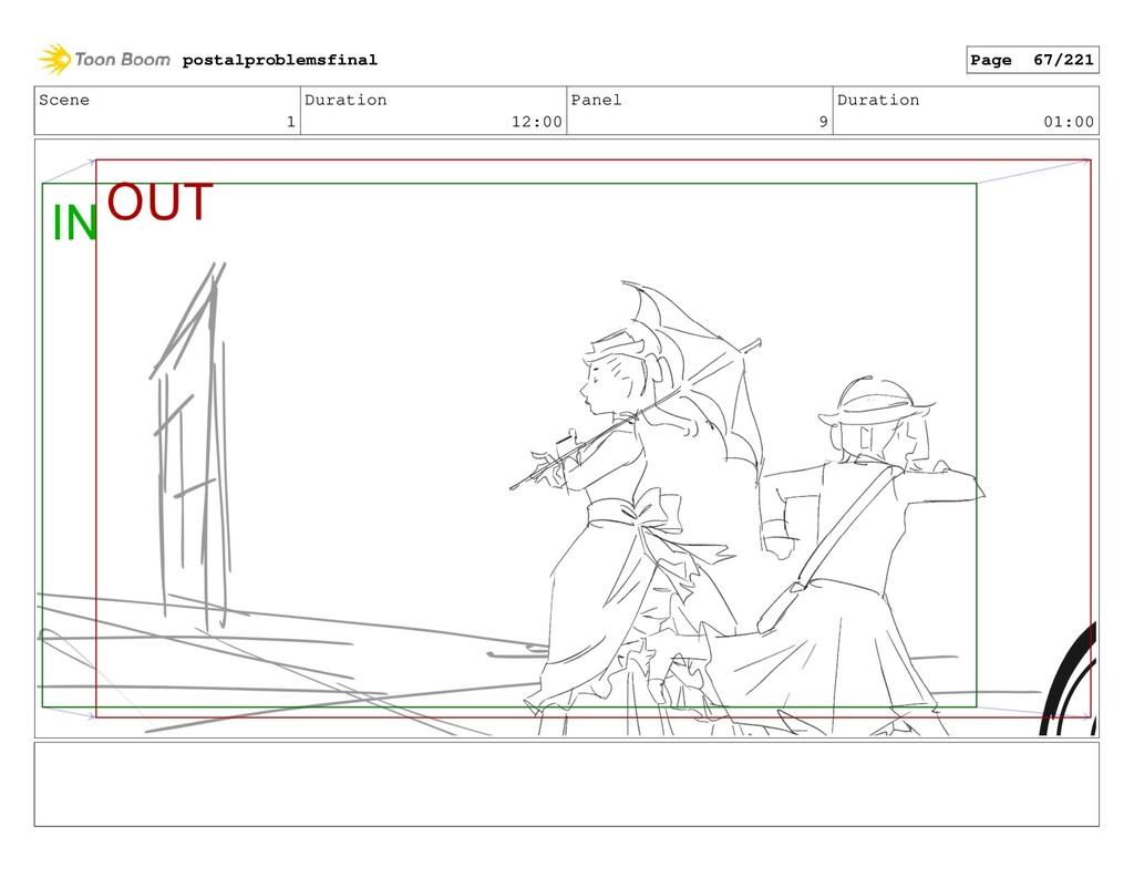 Scene 1 Duration 12:00 Panel 9 Duration 01:00 p...