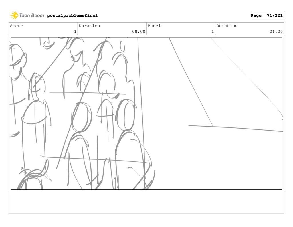 Scene 1 Duration 08:00 Panel 1 Duration 01:00 p...