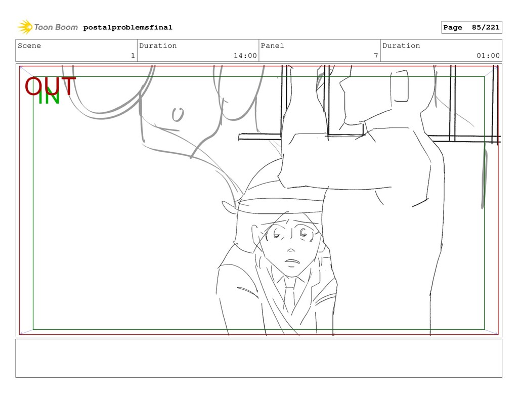 Scene 1 Duration 14:00 Panel 7 Duration 01:00 p...