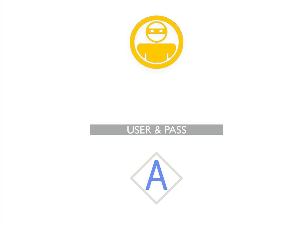 USER & PASS A