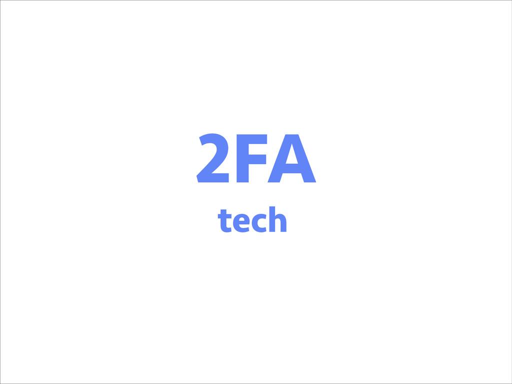 2FA tech