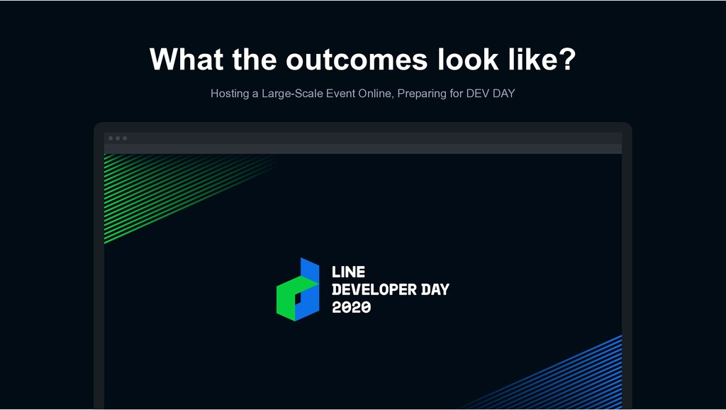 What the outcomes look like? Hosting a Large-Sc...