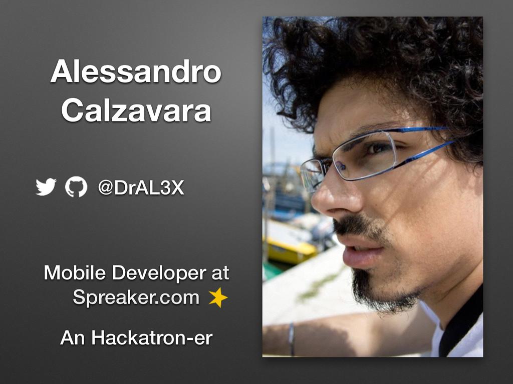 Alessandro Calzavara Mobile Developer at  Spr...