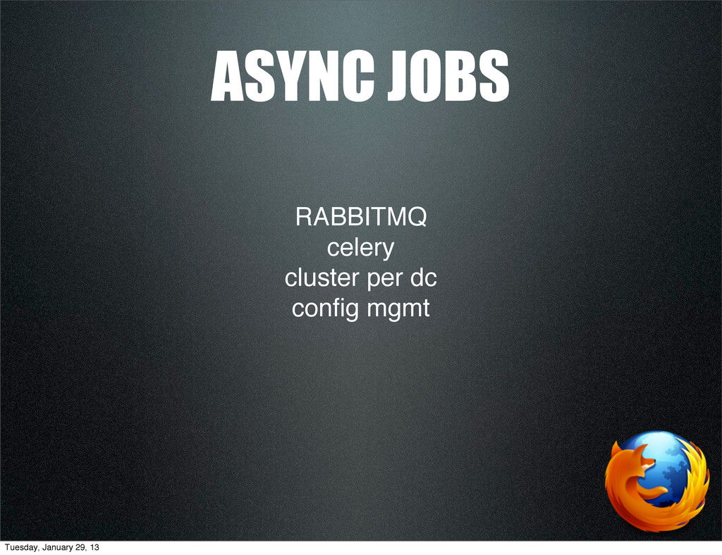 RABBITMQ celery cluster per dc config mgmt ASYNC...