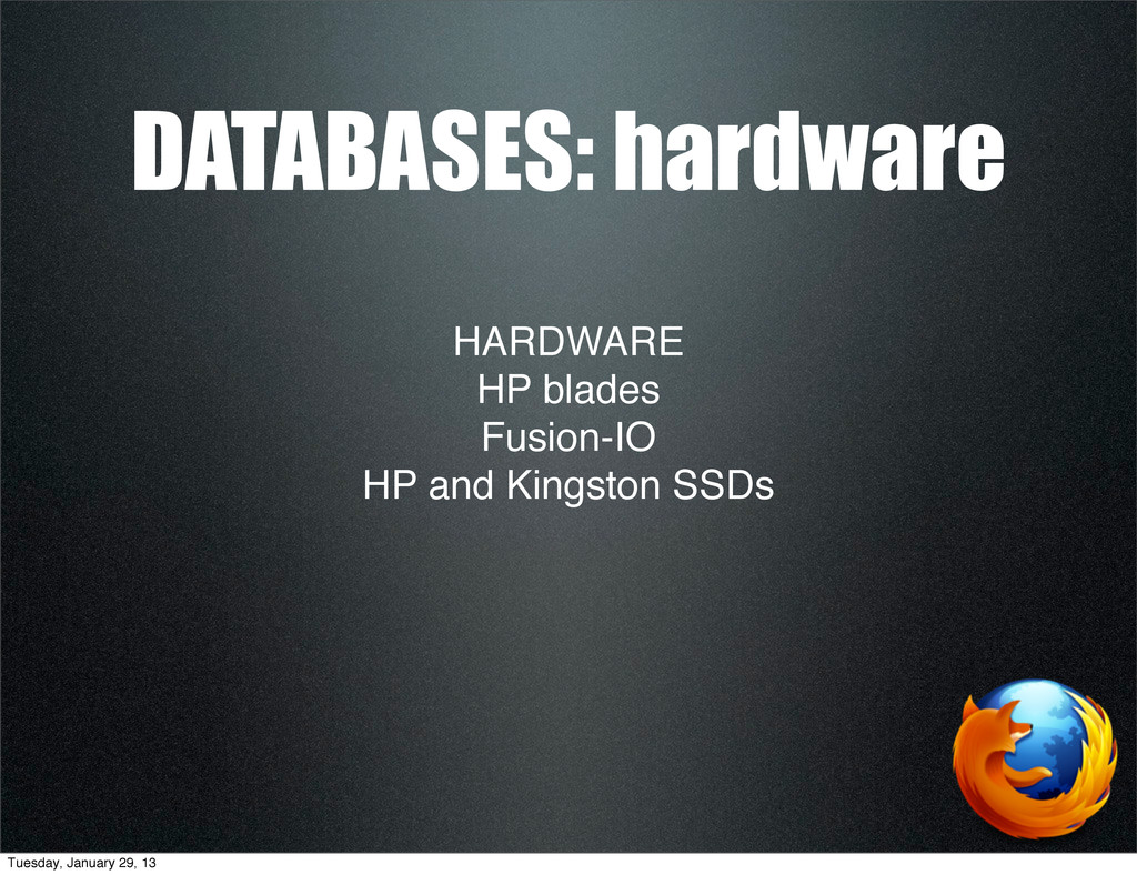 HARDWARE HP blades Fusion-IO HP and Kingston SS...