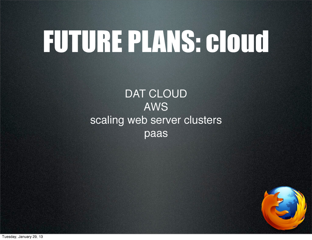 DAT CLOUD AWS scaling web server clusters paas ...
