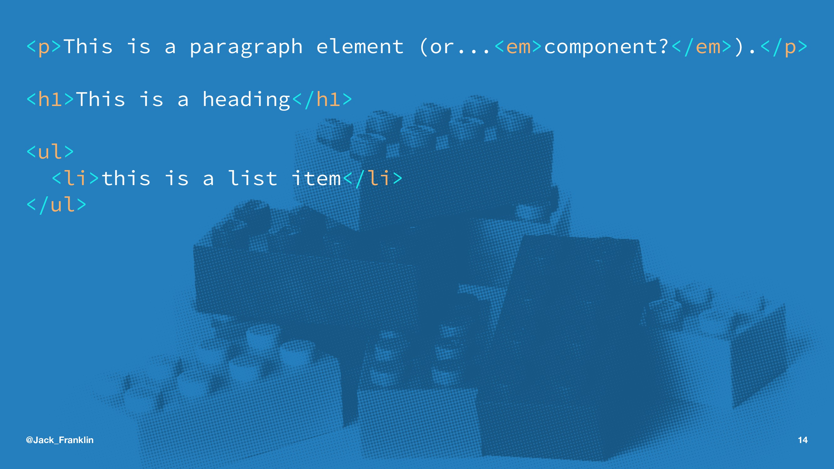 <p>This is a paragraph element (or...<em>compon...