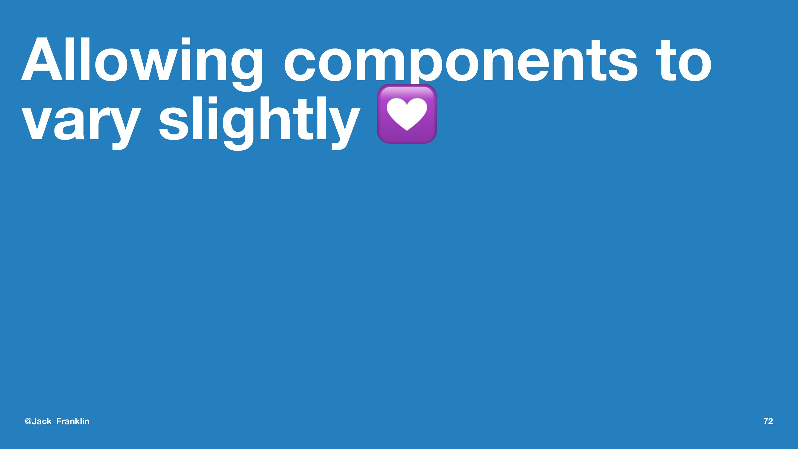 Allowing components to vary slightly ! @Jack_Fr...