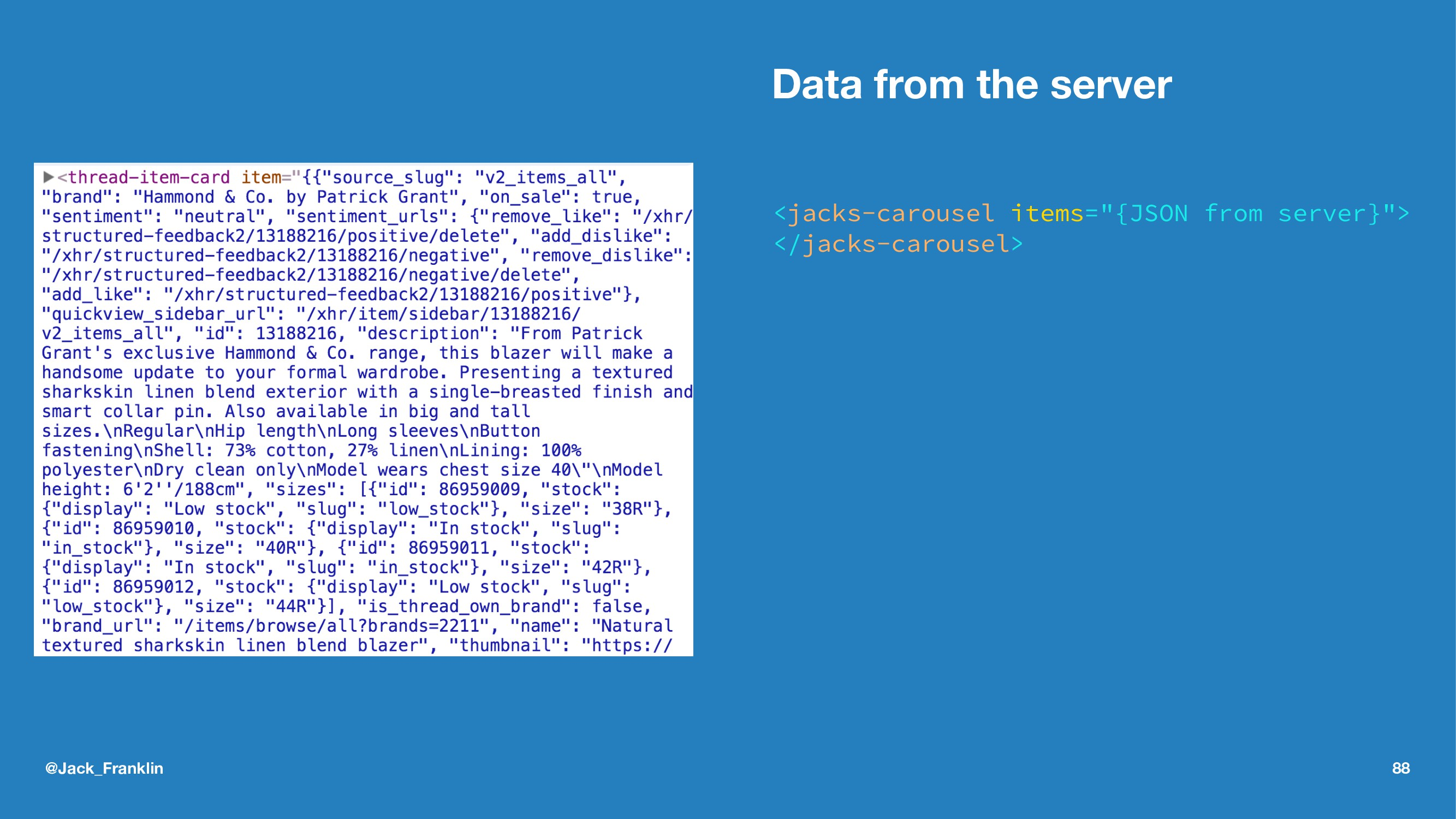 "Data from the server <jacks-carousel items=""{JS..."