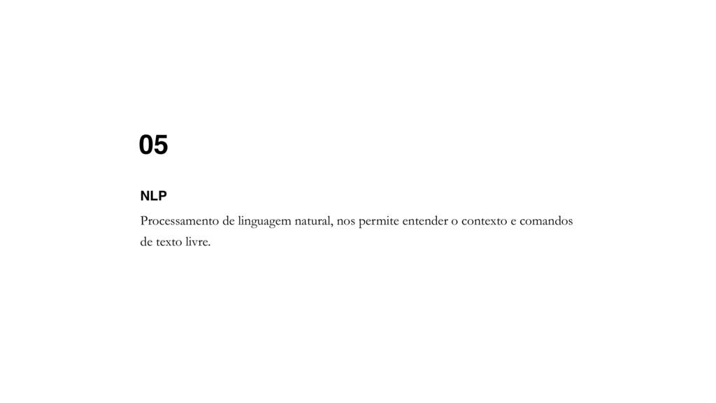 05 Processamento de linguagem natural, nos perm...