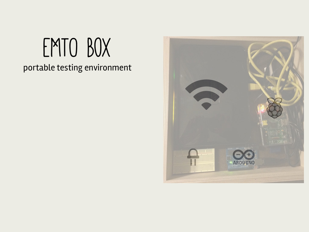 EMTO Box portable testing environment
