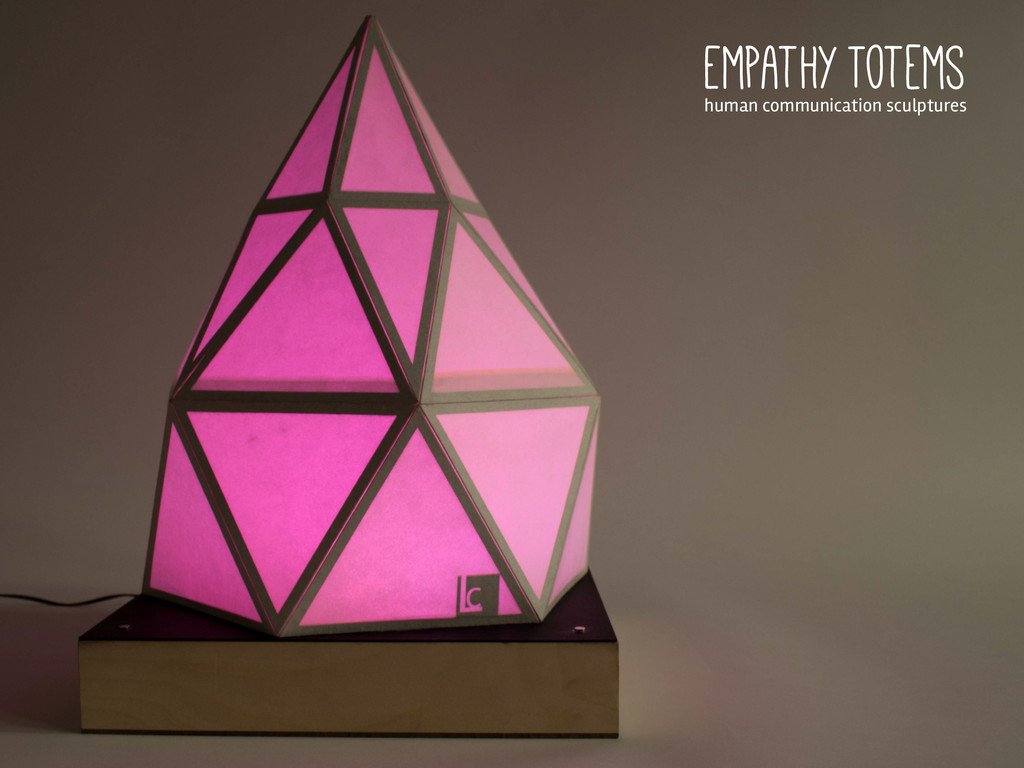 Empathy Totems human communication sculptures