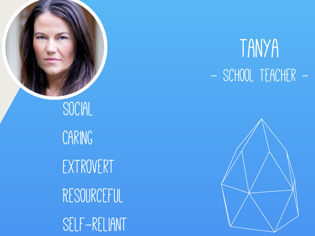 Tanya - School Teacher - Self-reliant Social Re...