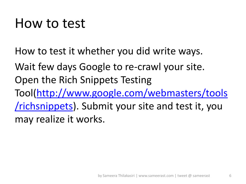 How to test How to test it whether you did writ...