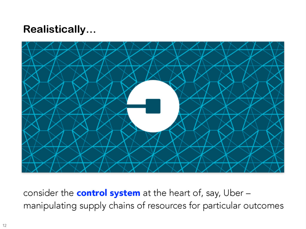 Realistically… consider the control system at t...