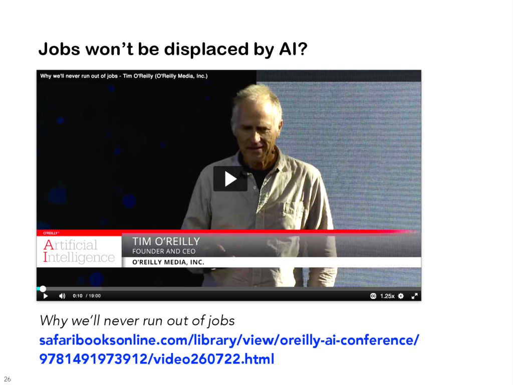 Jobs won't be displaced by AI? Why we'll never ...