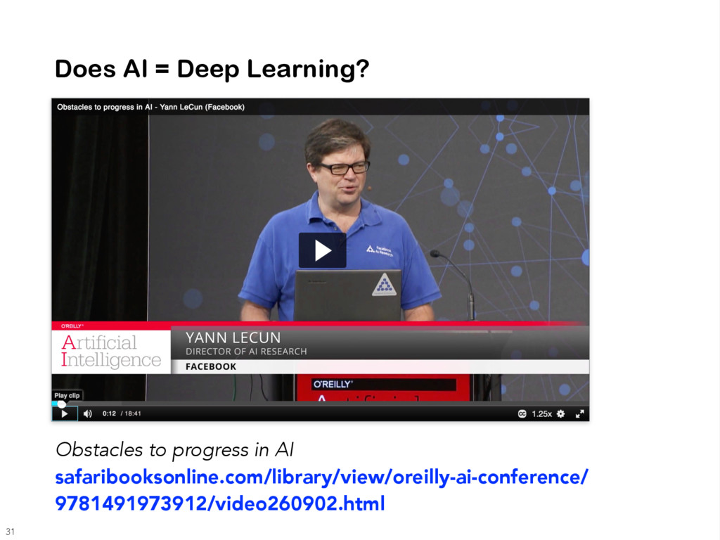 Does AI = Deep Learning? Obstacles to progress ...