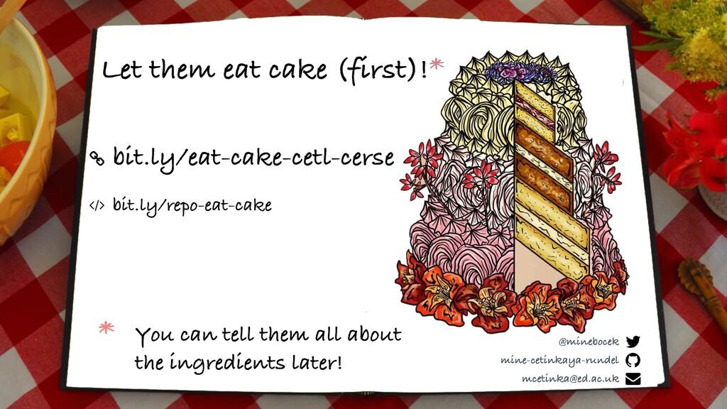 bit.ly/eat-cake-cetl-cerse Let them eat cake (f...