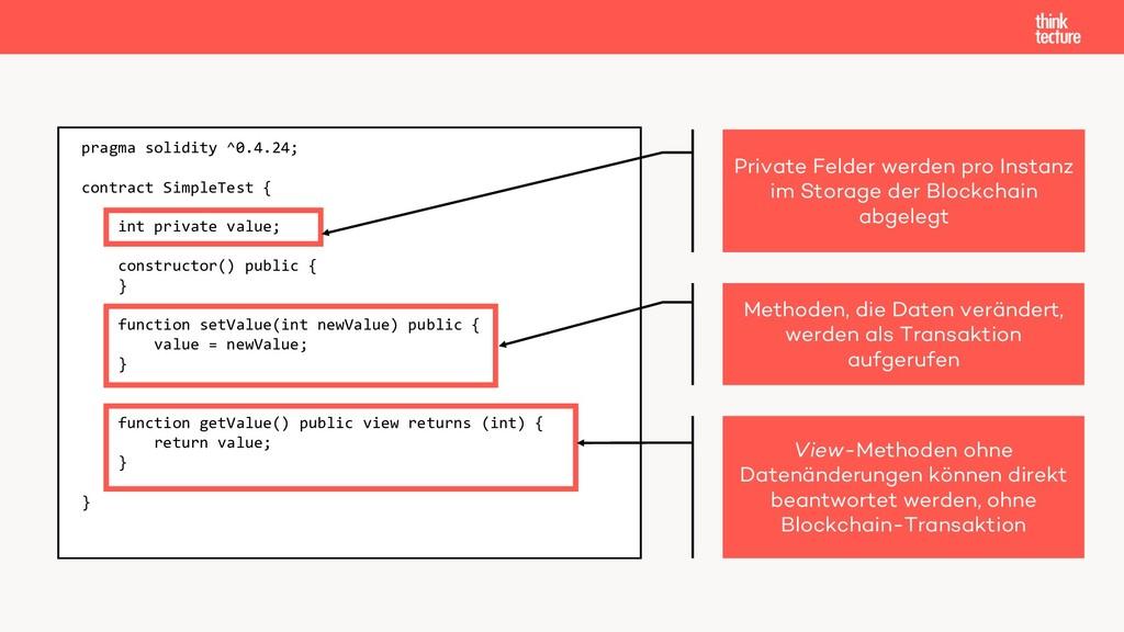 pragma solidity ^0.4.24; contract SimpleTest { ...