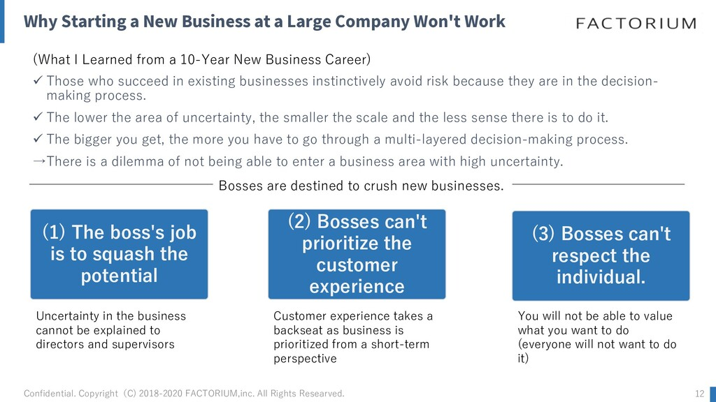 Why Starting a New Business at a Large Company ...