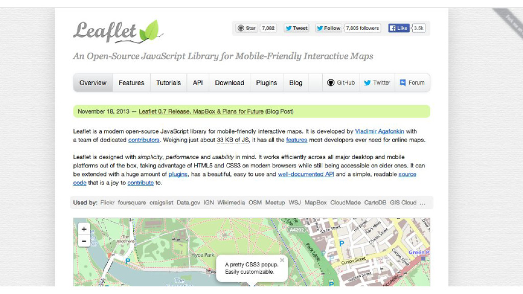 Introducing Leaflet