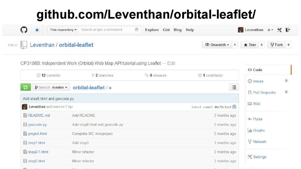 github.com/Leventhan/orbital-leaflet/