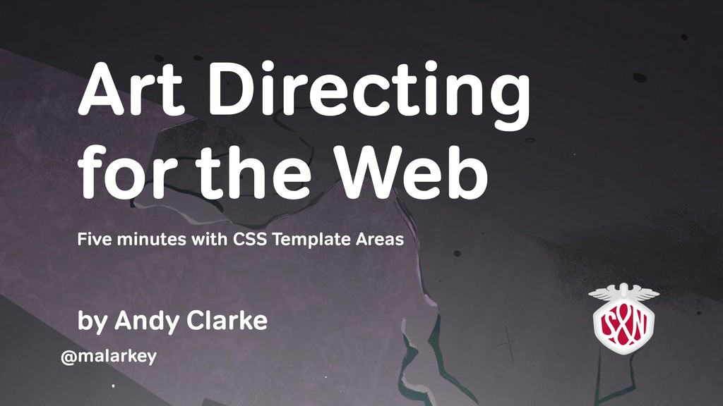 Art Directing for the Web by Andy Clarke Five m...