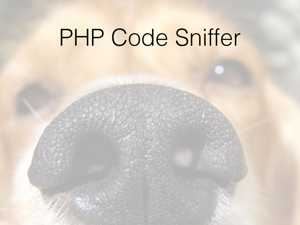 PHP Code Sniffer