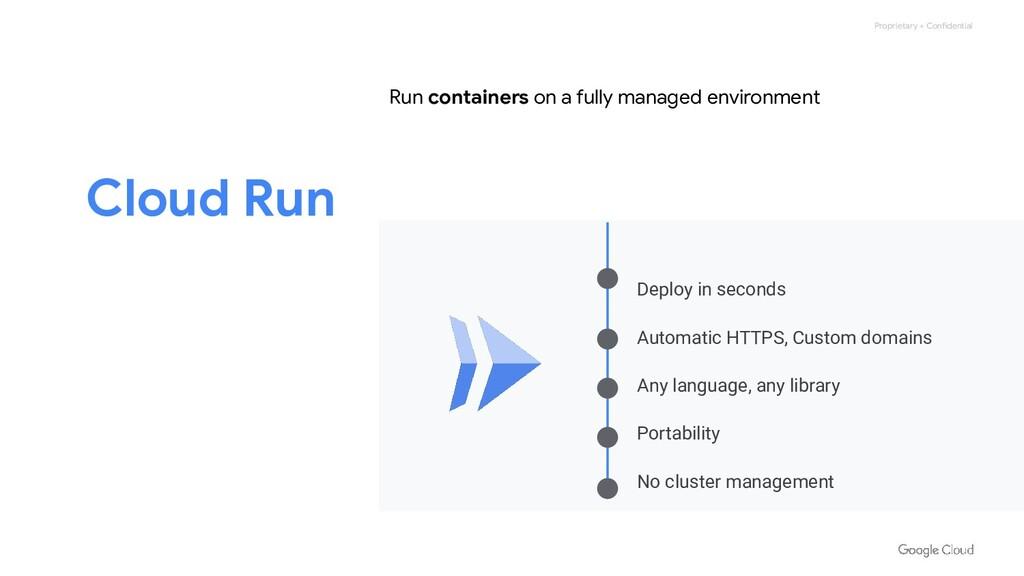 Proprietary + Confidential Cloud Run Deploy in ...