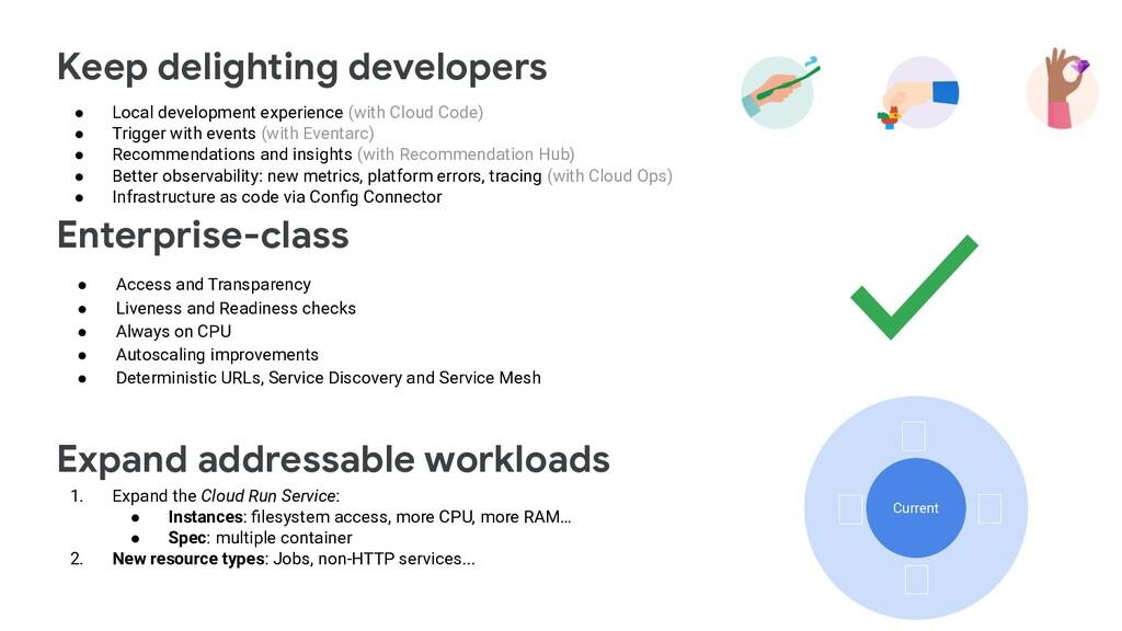 Keep delighting developers Enterprise-class Exp...