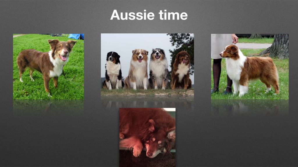 Aussie time 21