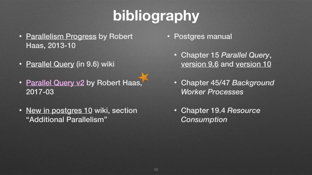 bibliography • Parallelism Progress by Robert H...