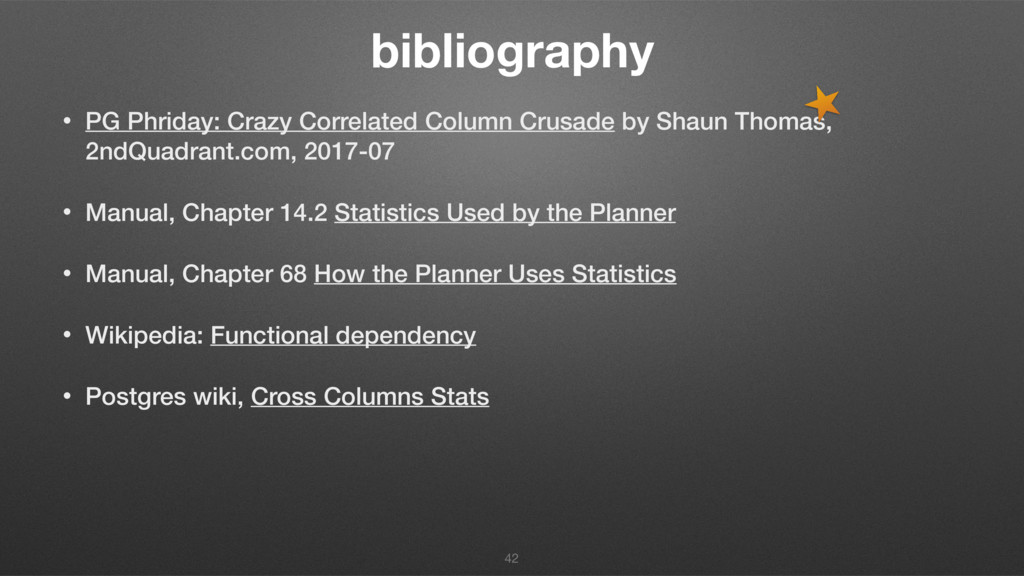 bibliography • PG Phriday: Crazy Correlated Col...