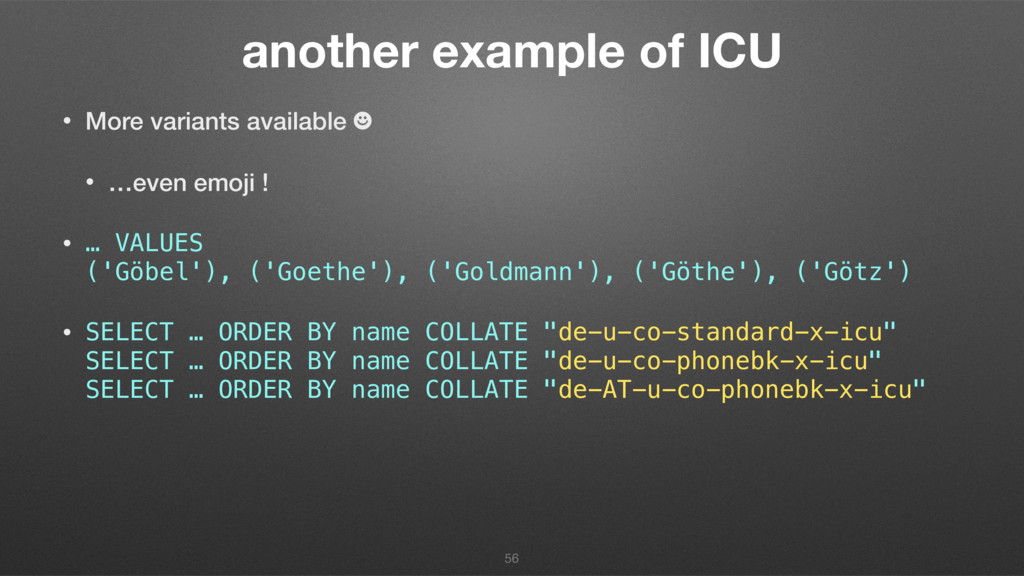 another example of ICU • More variants availabl...