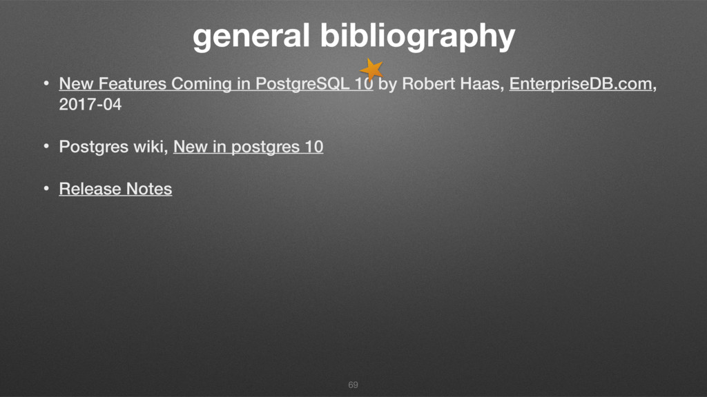 general bibliography • New Features Coming in P...