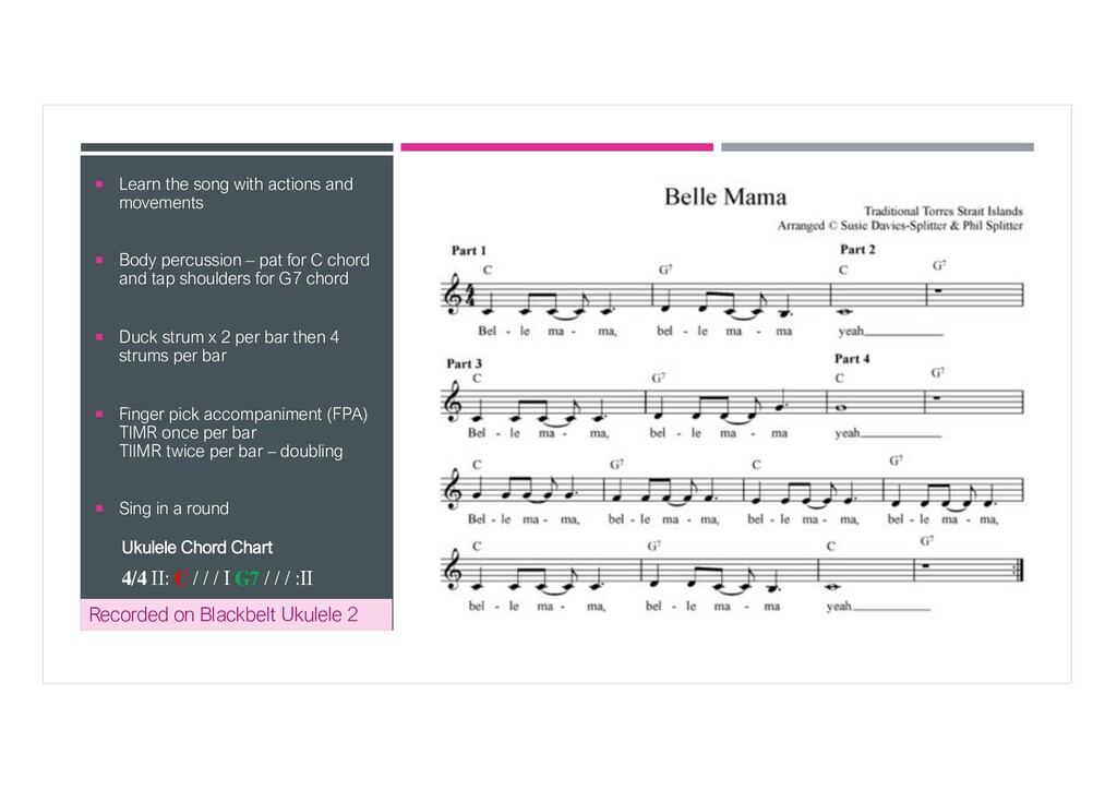 ¡ Learn the song with actions and movements ¡ B...