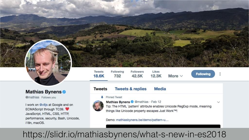 https://slidr.io/mathiasbynens/what-s-new-in-es...