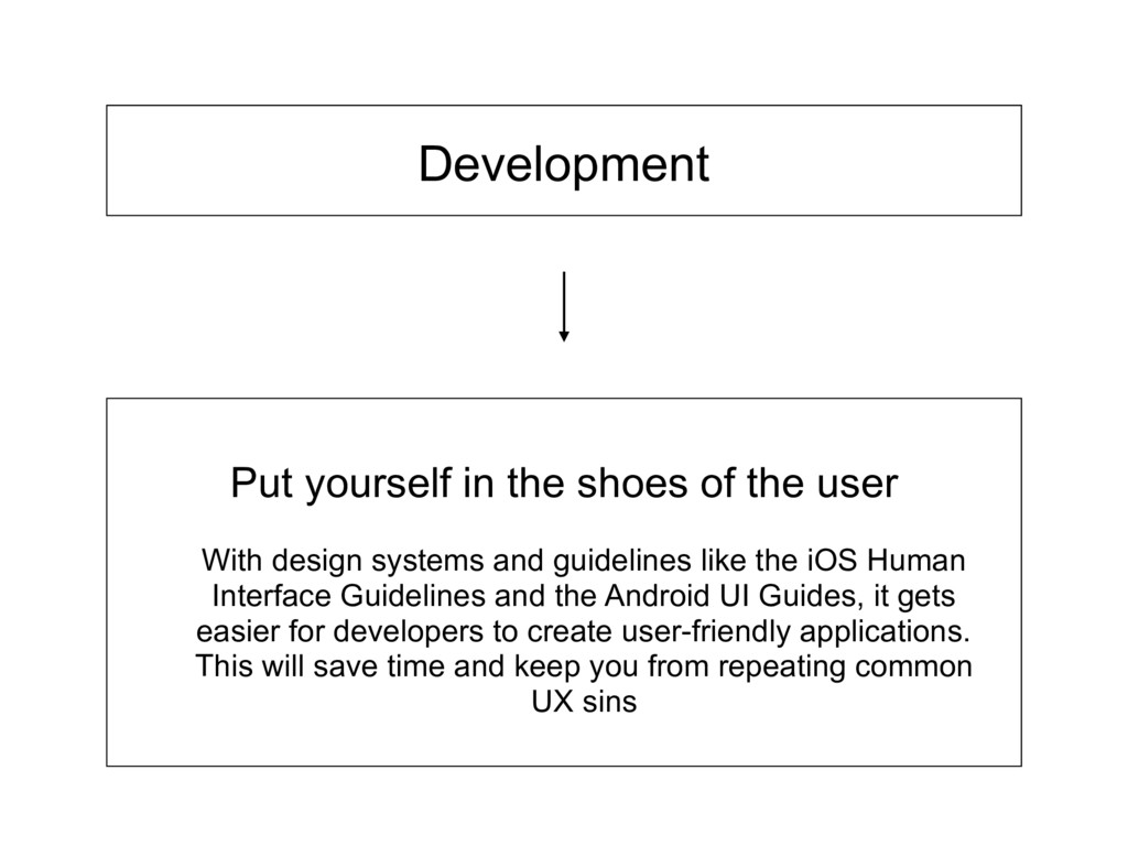 Development With design systems and guidelines ...