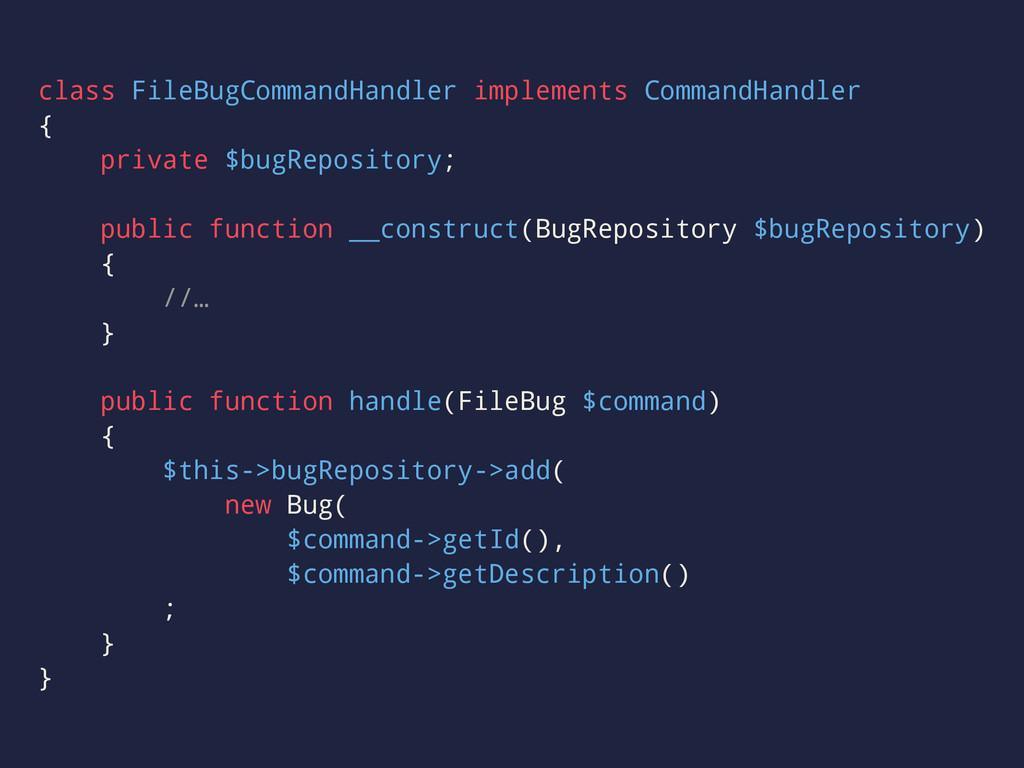 class FileBugCommandHandler implements CommandH...