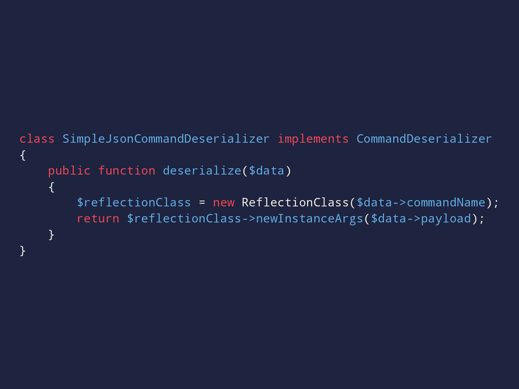 class SimpleJsonCommandDeserializer implements ...