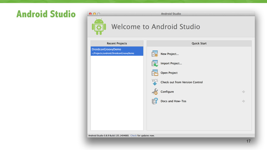 Android Studio 17