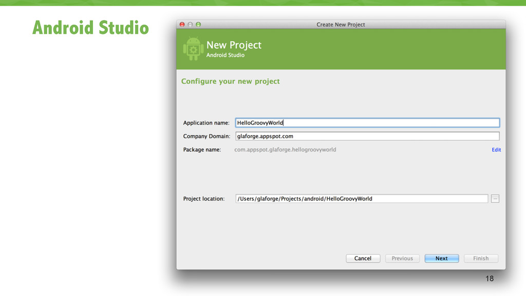 Android Studio 18