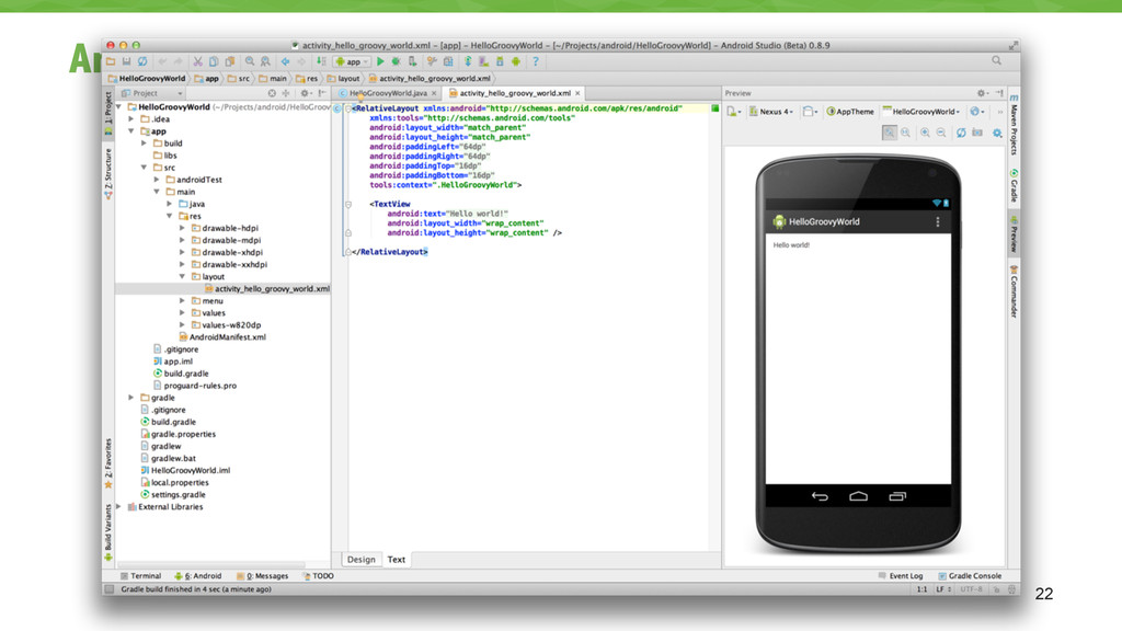 Android Studio 22