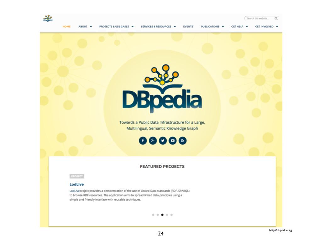 http://dbpedia.org 24