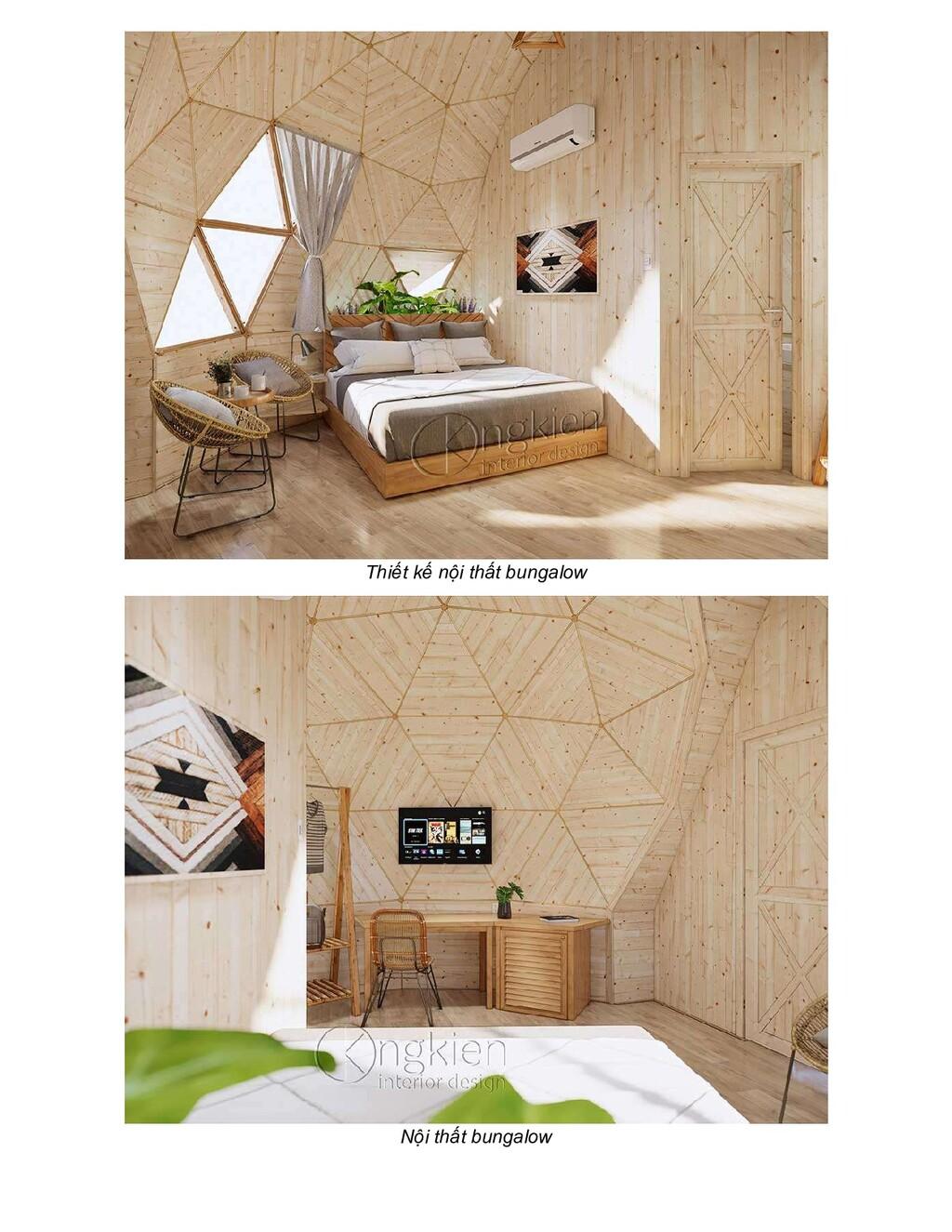 Thiết kế nội thất bungalow Nội thất bungalow