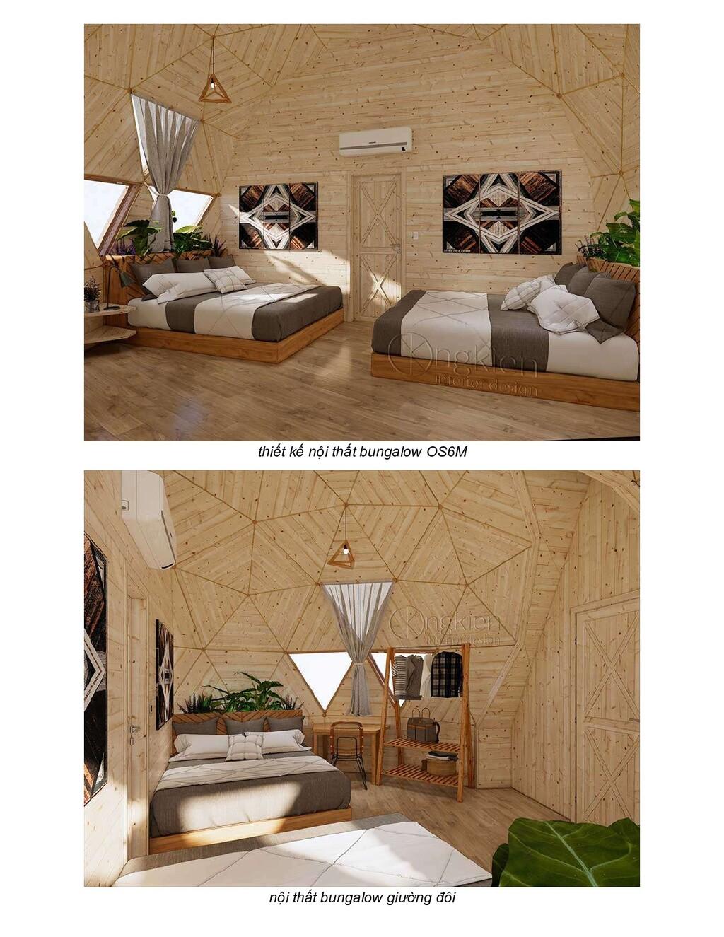 thiết kế nội thất bungalow OS6M nội thất bungal...
